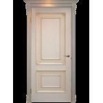 Двери из массива шпонированные