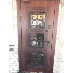 <Входные двери в дом п. Дроздово