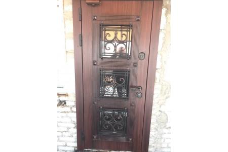 Входные двери в дом п. Дроздово