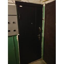 <Входная дверь ул. Розы Люкс. с подрезкой под электрощиток
