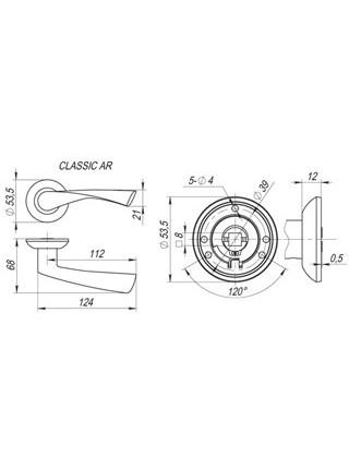 CLASSIC AR AB/GP-7 бронза/золото