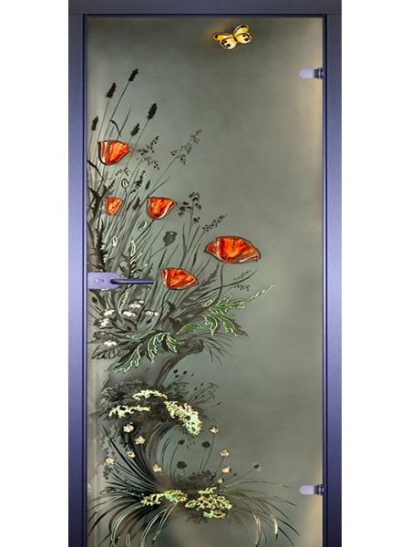 Art-Deсor Маки с бабочкой