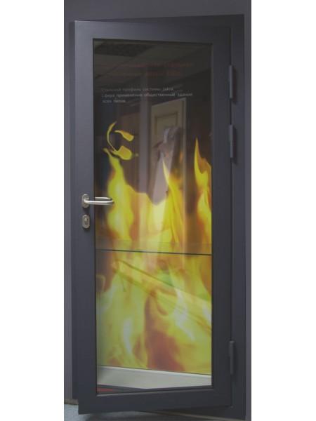 Противопожарная дверь EI60 «BKT КВАРЦ STS PP 60»