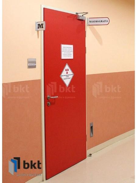 Комбинированная рентгенозащитная дверь
